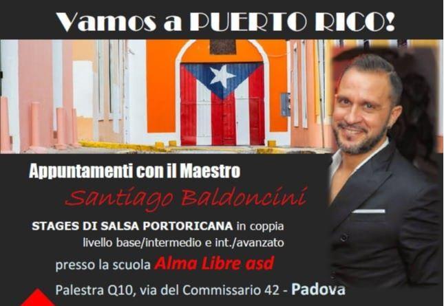 Salsa Stage con Alma Libre a.s.d.