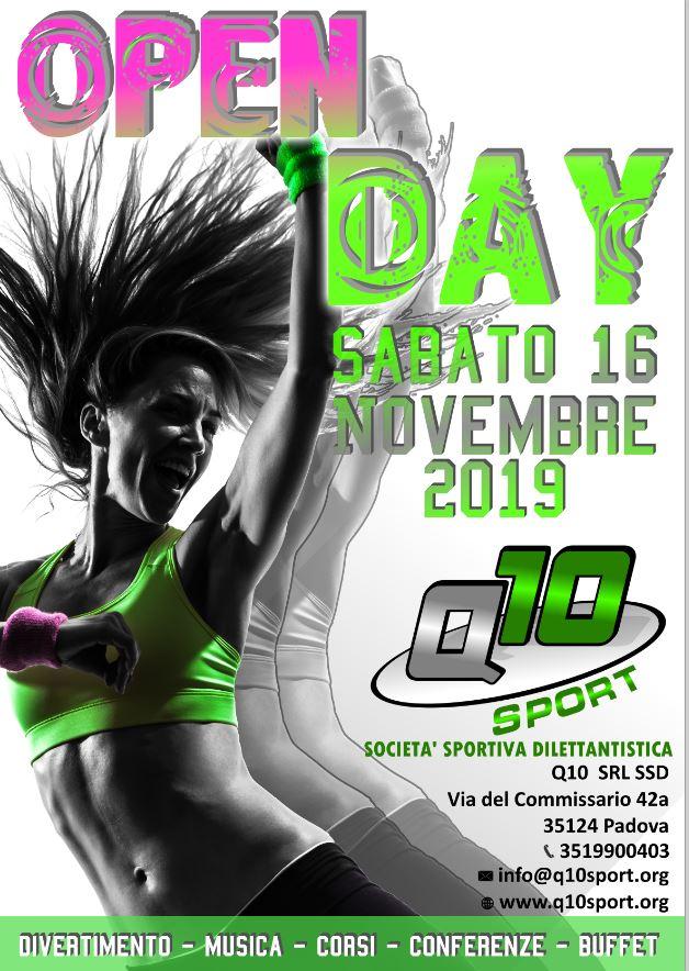 Open Day Sabato 16 Novembre Palestra Padova