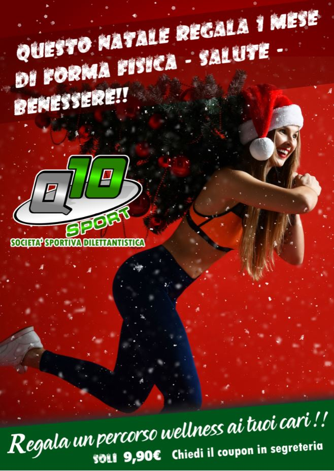 Natale 2019 Q10Sport Palestra Padova